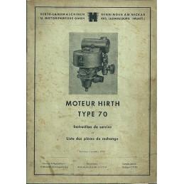 Moteur Hirth Type 70