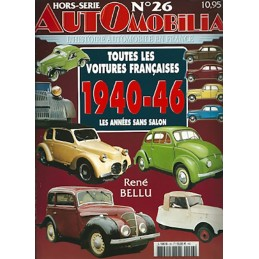 Hors Serie Automobilia N° 26