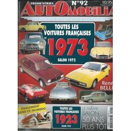 Hors Serie Automobilia N° 92