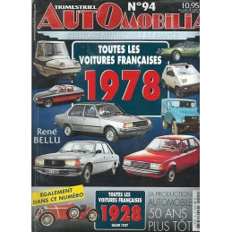 Hors Serie Automobilia N° 94