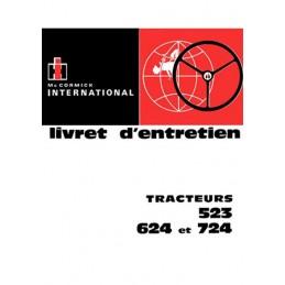 Livret Entretien 523 / 624 / 724