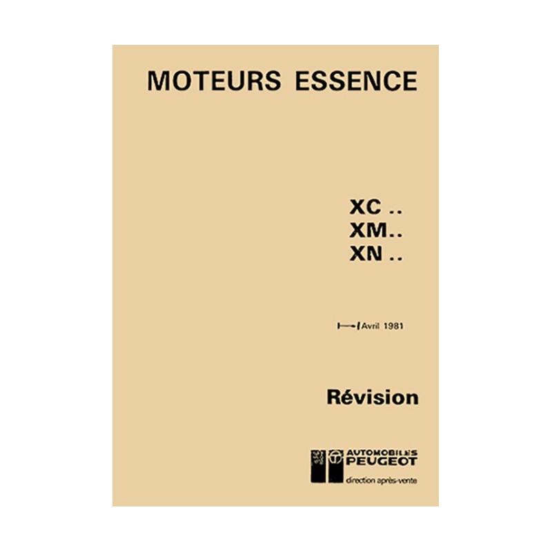 Manuel d'Atelier XN1 (1985)