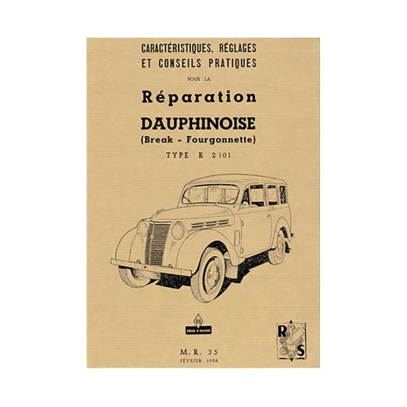 Manuel de Reparation  Dauphinoise