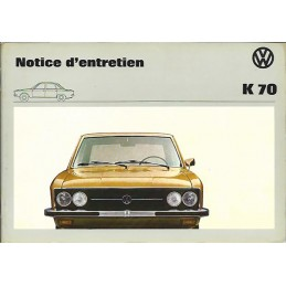 Notice d' Entretien 1973