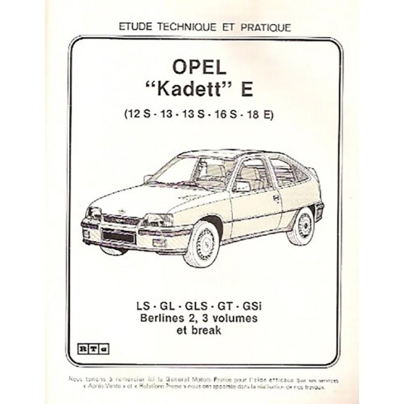 Revue Technique Kadett  E