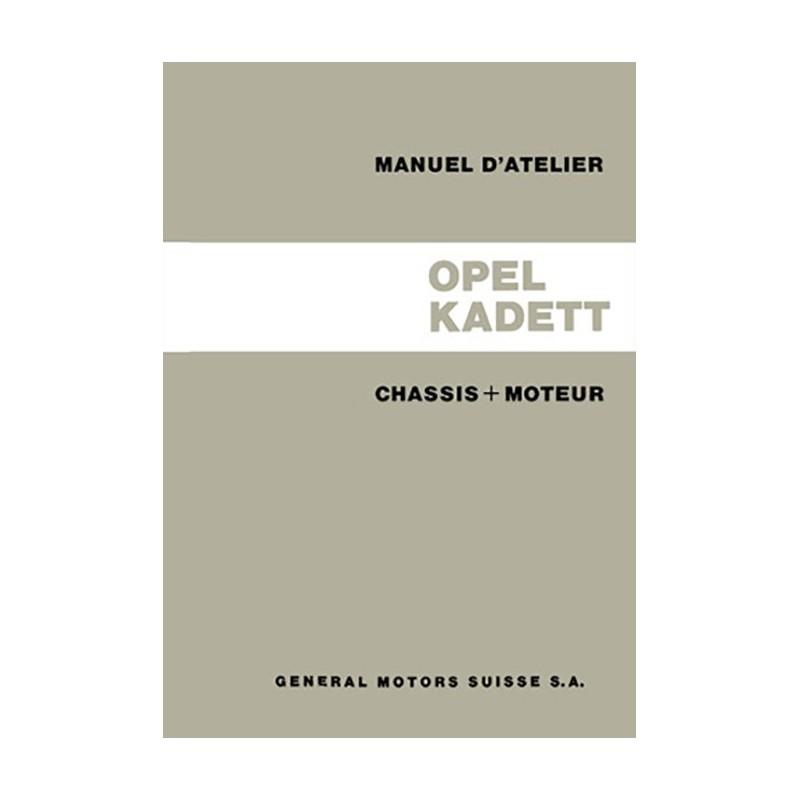 Manuel Atelier Kadett A