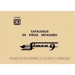 Catalogue Pieces  1951 à 1955