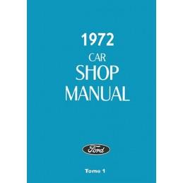 Manuel Reparation 1972 Tome 1