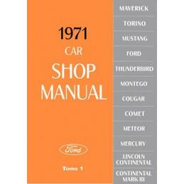 Manuel Reparation 1971 Tome 1