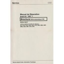 Manuel Reparation BV Auto 01M