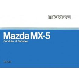 Notice d' Entretien MX 5 NA