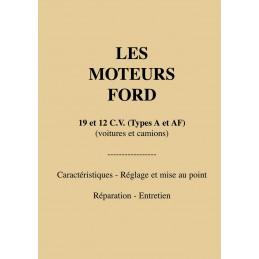 Manuel d' Atelier Ford A