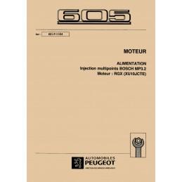 Manuel Atelier Injection Bosch