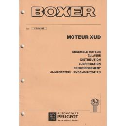 Manuel Atelier Moteur XUD
