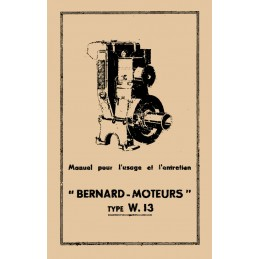 Moteur Bernard  W13