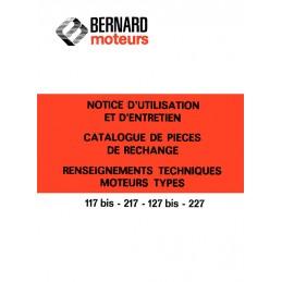 Moteur Bernard 117-217-127-227