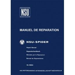 Manuel de Reparation  Spider