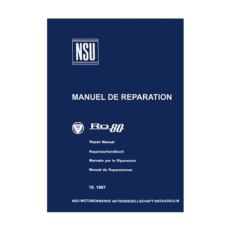 Manuel de Reparation RO80