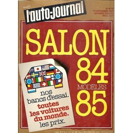 N° Salon Auto Journal 1984