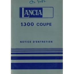 Notice Entretien Coupé 1976