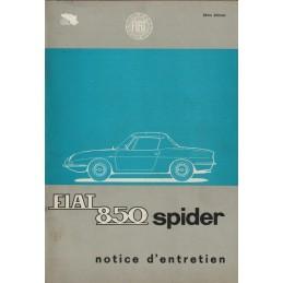 Notice d' Entretien Spider...