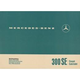 Notice d' Entretien 300 SE