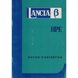 Notice Entretien HPE 1975