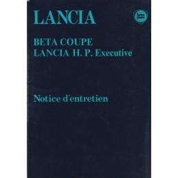 Notice Entretien Coupé/HPE...