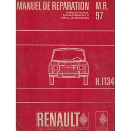 Manuel de Reparation R 1134