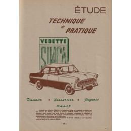 Revue Technique Vedette 1955
