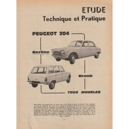 Revue Technique 204  1965