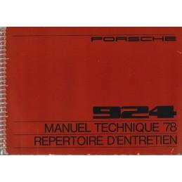 Notice Entretien 924 1978