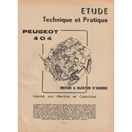 Revue Technique 1963 Injection