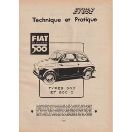Revue Technique  500 & 500 D