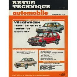 Revue Technique 1986 GTi 16S