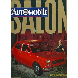 N° Salon Automobile 1971