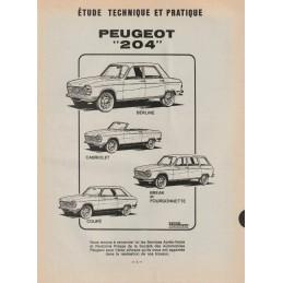 Revue Technique 204 1972