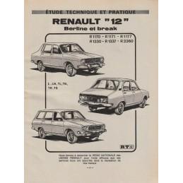 Revue Technique R 12  1976