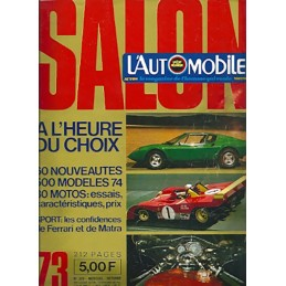 N° Salon Automobile 1973