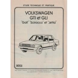 Revue Technique 1981  GTi