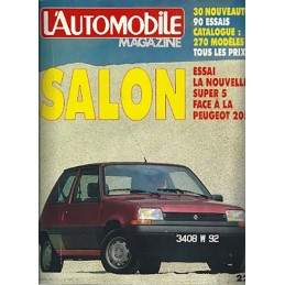 N° Salon Automobile 1984
