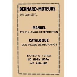 Moteur Bernard  110 - 610 -...