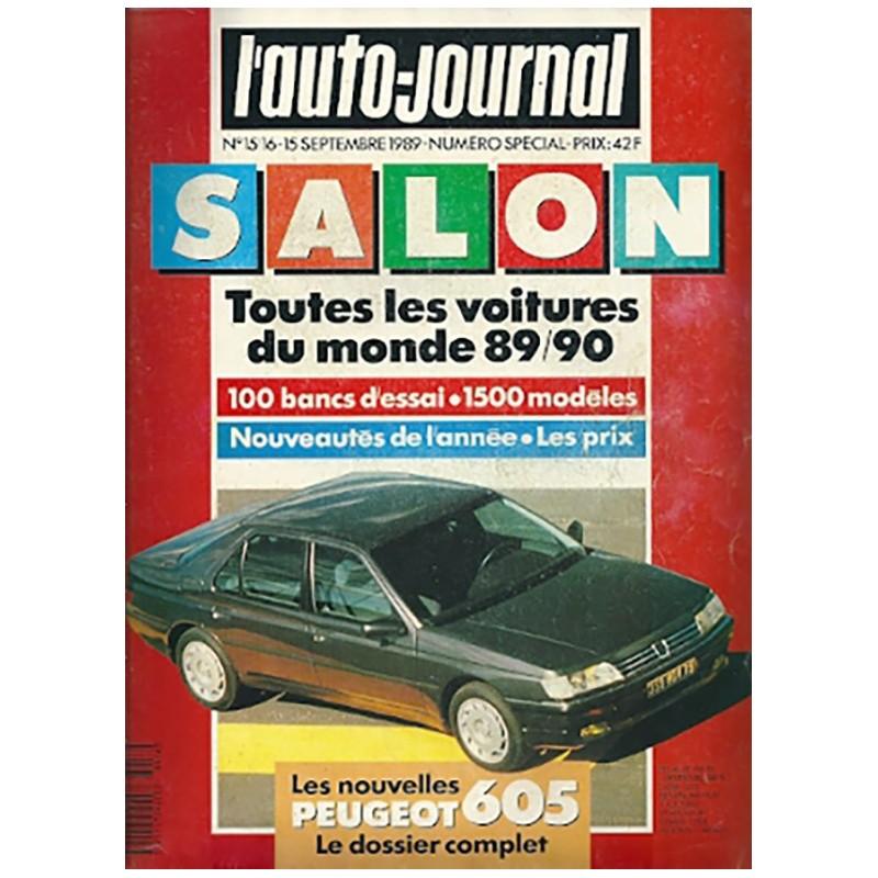N° Salon Auto Journal 1989