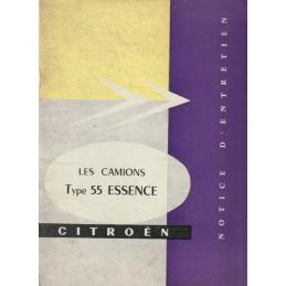 Notice Entretien T 55 1958