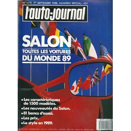 N° Salon Auto Journal 1988