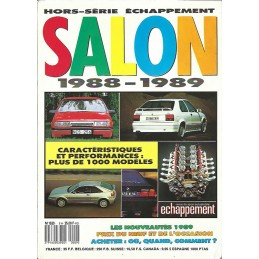 N° Salon Echappement  1988