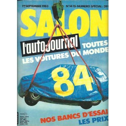 N° Salon Auto Journal 1983