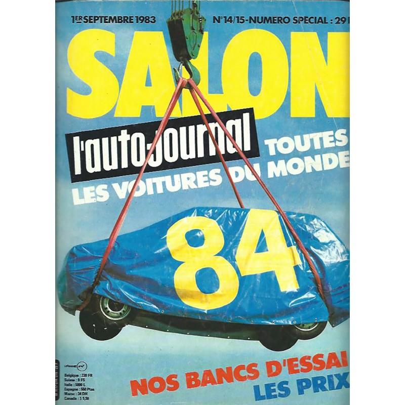 N° Salon Auto Journal 1983