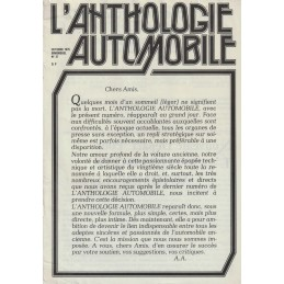L'Anthologie Automobile N° 37