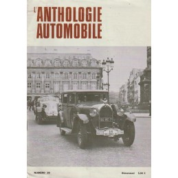 L'Anthologie Automobile N° 38